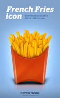French Fries Icon by ceku