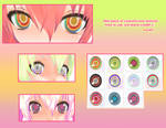 MMD: Colourful Eyes