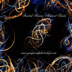 Fractal Flames Abstract Swirls