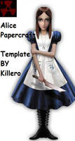 Alice Papercraft Template