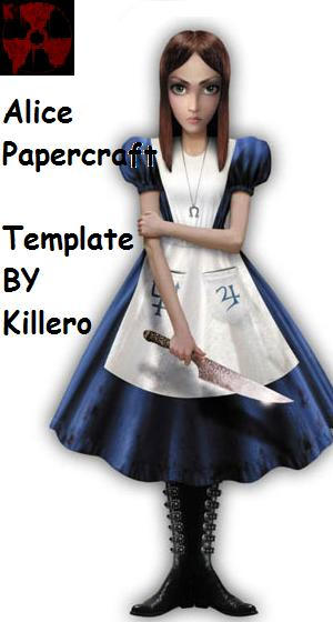 Alice Papercraft Template by killero94