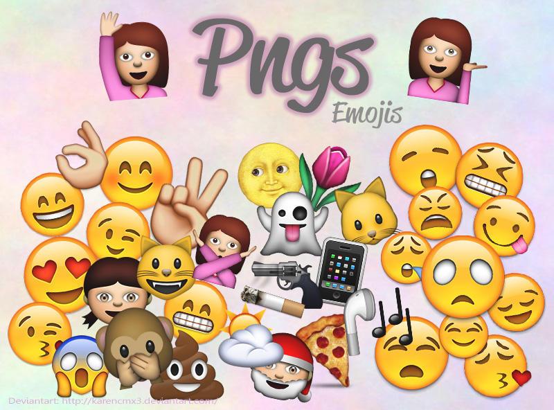 Emojis De Whatsapp En Pngs By Karencmx3 On Deviantart
