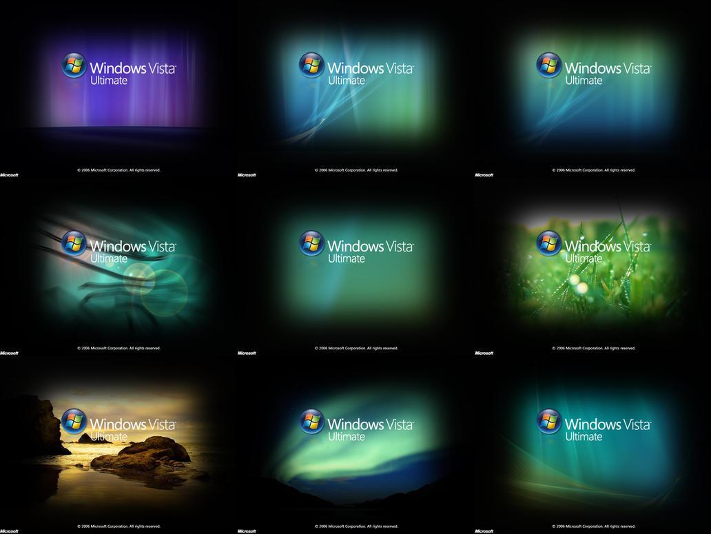 Vista RTM Bootscreen Pack By GeneraLBraziL69