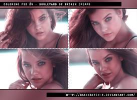 PSD #4 - Boulevard Of Broken Dreams by basicbitch-r