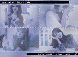 PSD #11 - Saturn by basicbitch-r