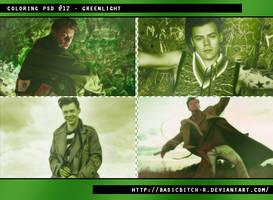 PSD #12 - Greenlight by basicbitch-r