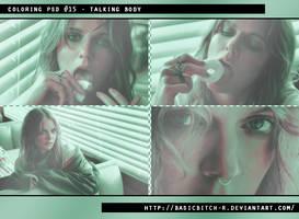 PSD #15 - Talking Body by basicbitch-r