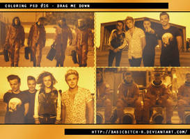 PSD #16 - Drag Me Down by basicbitch-r