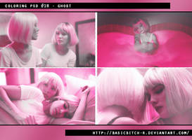 PSD #18 - Ghost by basicbitch-r