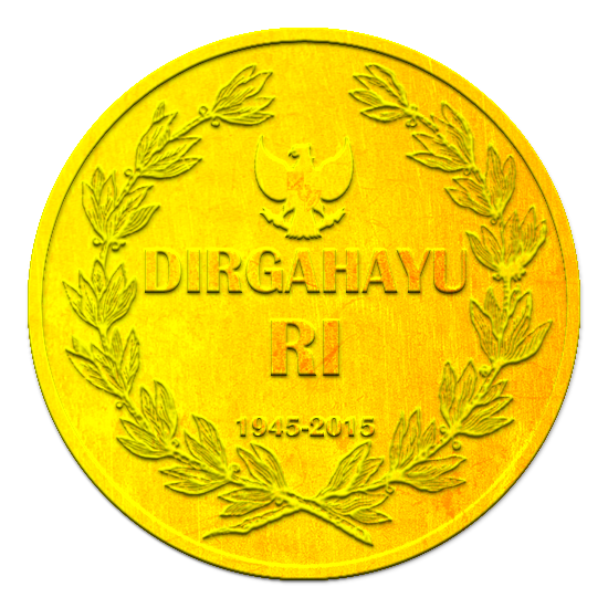 Gold Coin 70th Year Indonesia