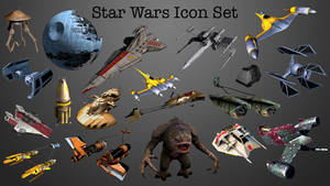 Star Wars Icon Set