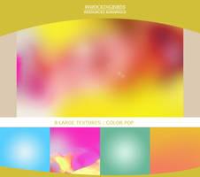 8 Color Pop Textures by 99mockingbirds