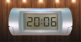 Desk Digital Clock Skin