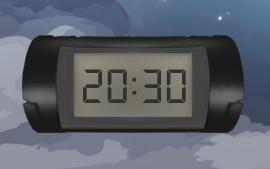 Desk Digital Clock 2 by The1StraightShooter