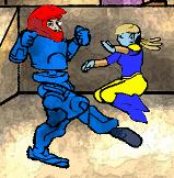 RoofTop fight by PeKj