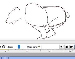 Animating Running Bear