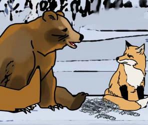 How the Bear got a short Tail