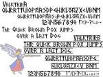 Valkyrie font by PeKj