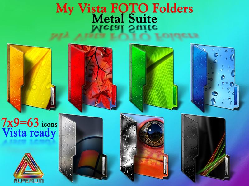 My Vista FOTO Folders by klen70