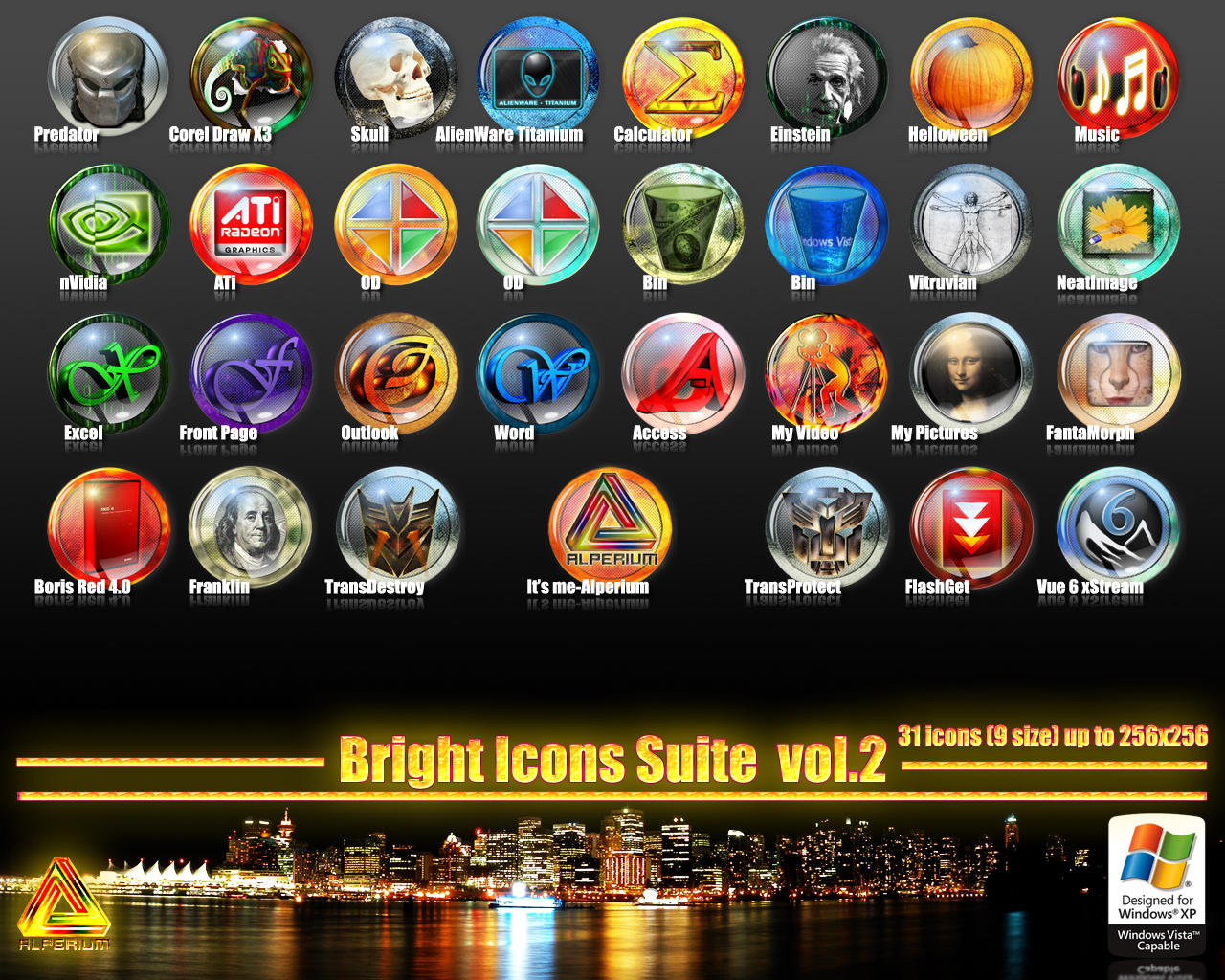 Bright Icons Suite vol.2 by klen70