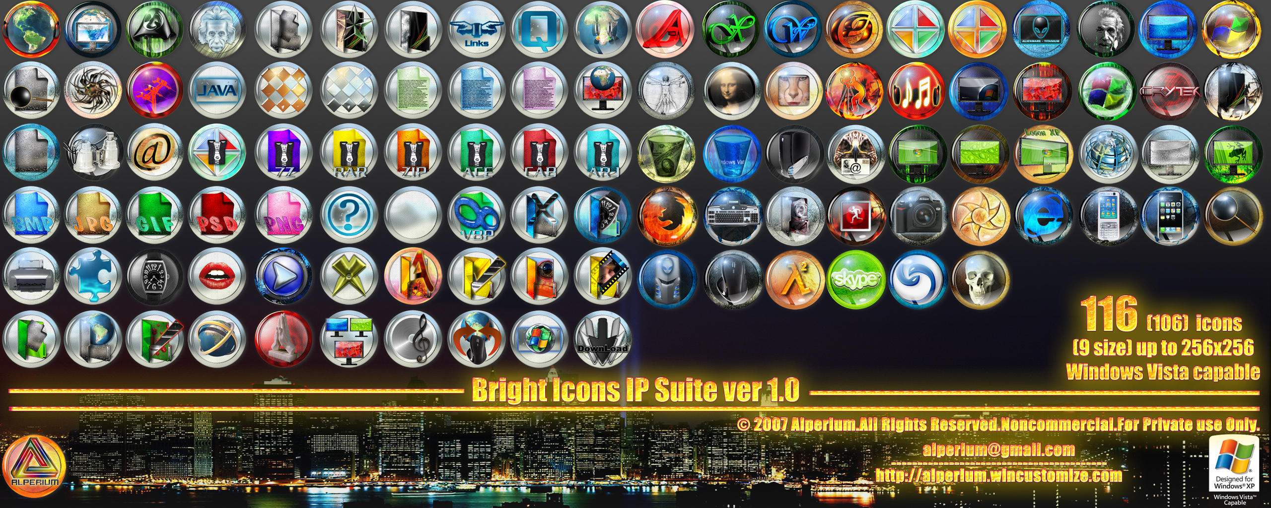Bright Icons IP Suite v1.0 by klen70