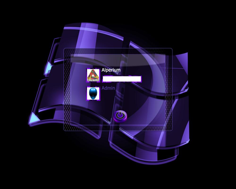 Windows INVI PRO Indigo Logon by klen70