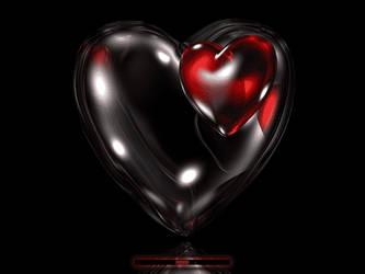 Double Heart Boot by klen70