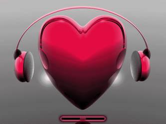 Music Heart v1 by klen70
