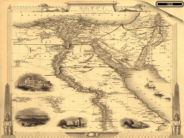 Egypt 1851 by klen70