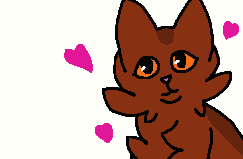 My lesbian cat (Dolly) by UnluckyFowl