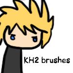 KH2 chibi brushes by Furuba-Fangirl