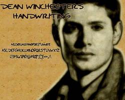 Dean Winchester's Handwriting
