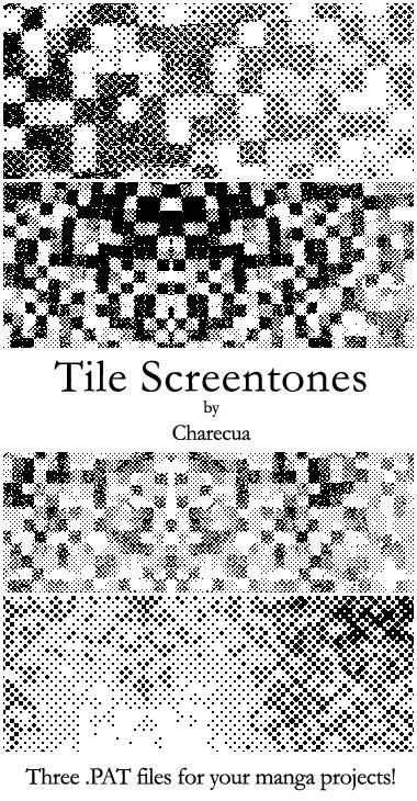 Tile Screentones by chare-stock