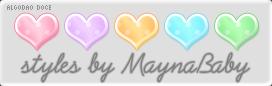 Photoshop Styles Algodao Doce by maynababy