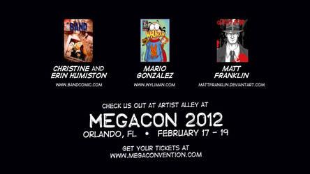 Come see us at MegaCon 2012!