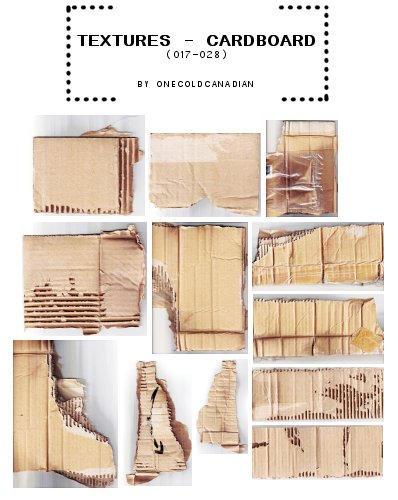 Cardboard 017 - 028 by onecoldcanadian