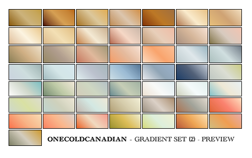 PSP7 Gradients - Set 2 by onecoldcanadian