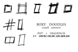 Boxy Doodles by onecoldcanadian