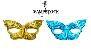 Butterfly Mask PNG Vampstock