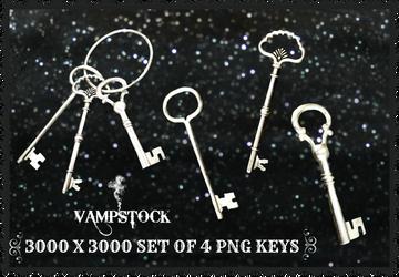 Skeleton Keys PNG Vampstock
