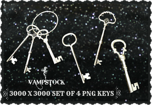 Skeleton Keys PNG Vampstock