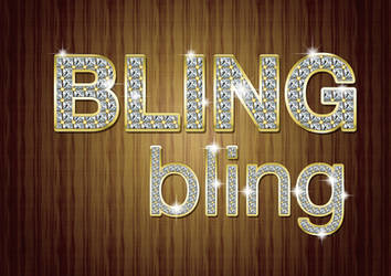 Bling Photoshop Style Kit by MelissaReneePohl