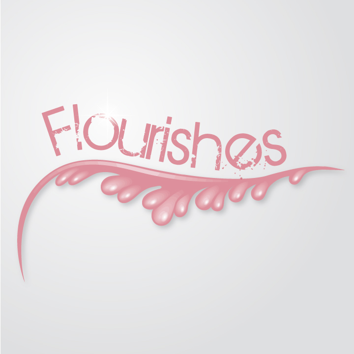 Flourish Illustrator Brushes by MelissaReneePohl