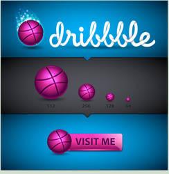 Dribbble Icon Set by MelissaReneePohl
