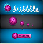 Dribbble Icon Set