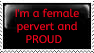 Female Perv and PROUD by Forever---Free