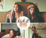 Kick it psd by delicatetrees