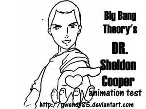 Sheldon Cooper Animation Test