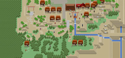 SDL Town 1 by RoninsUltramix