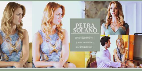 Petra Solano Coloring Psd
